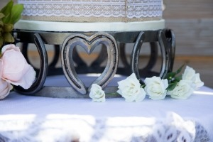 Horseshoe Cake stand Wedding decorations